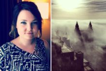 JMU Journalism's Ida Husøy created a storm of interest after a picture she took of Liverpool engulfed by fog went viral across the web.