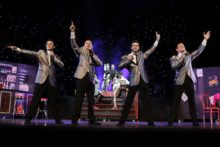The famous songs of Frankie Valli and the Four Seasons were brought to life at the Liverpool Empire.