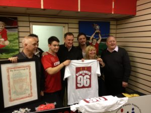 Hillsborough pop-up shop