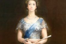 A portrait of the Queen, which has been locked away in storage for nearly 60 years, will now hang permanently in St George's Hall.