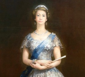 Portrait of the Queen which was not thought to be representative of her