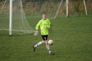 Goalkeeper Rory narrowly missed out on a professional football contract © RoryKelly/Facebook