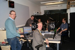 Richard Rudin and the LJMU Sound team