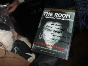 Signed DVD of 'The Room' at FACT Liverpool