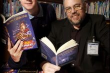 Liverpool award-winning children's author Alan Gibbons is fighting plans to close half of Merseyside's libraries.