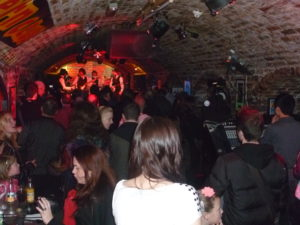 All You Need Is Love play Please Please Me in front of a packed Cavern Club