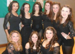 LJMU Freestyle Dance Society at the National Student Dance Competition