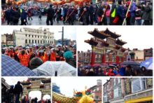 Images from Chinatown as crowds brave the rain to celebrate the Year of the Snake.