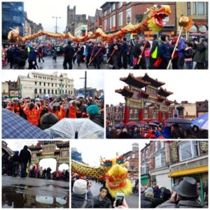 Chinese New Year in Liverpool 2013 Photo: Ida Husøy