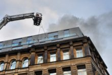 Building work to repair the fire-damaged upper floors of the Hard Day's Night Hotel may take months to complete.