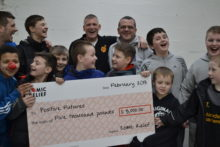 Local young boxers have been awarded a £5,000 grant from Comic Relief to create their own gym.