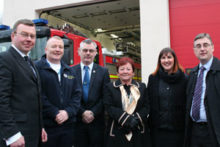 Merseyside fire fighters have moved into their new and unique Toxteth station.