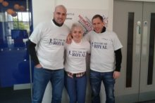 Three friends are attempting to run 2,013 miles this year to raise funds for cancer patients in Merseyside.