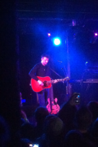 The Courteeners frontman Liam Fray at O2 Academy
