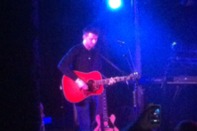 The Courteeners frontman Liam Fray performed an acoustic set at Liverpool O2 Academy to launch his band's new album.