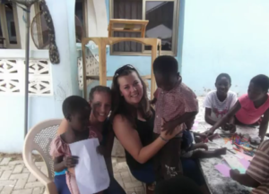 Lauren & Leanne on their last mission to Ghana