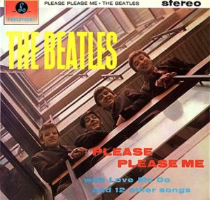 The Beatles' first album 'Please Please Me' © EMI/Parlophone