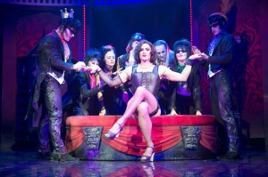 Oliver Thornton as Frank N Furter © The Rocky Horror Show