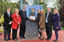 A smoke-free scheme for Liverpool's play areas has been launched to help prevent youngsters taking up the habit.