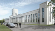 The landmark Littlewoods Pools building has been saved from demolition as £19 million hotel plans will still go ahead.