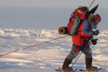 A man from Merseyside will undertake a 100-mile skiing expedition to the North Pole to raise money for a children's charity.
