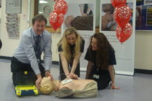 Knowsley Community College has received an award for its dedication to cardiac arrest awareness.