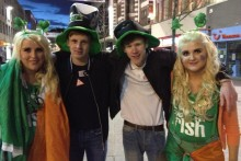 Images from Liverpool as the city joins worldwide St Patrick's Day celebrations.