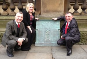 Deputy Lord Mayor Gary Millar with Old Swan Councillors Joanne Calvert and Peter Brennen ©TomSouthern