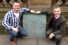 A bronze war memorial plaque, which was put up for sale on eBay, has been returned to its original home in north Liverpool.