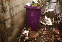 "Rubbish being left in alleyways has prompted Liverpool City Council to warn residents that ""rats love rubbish""."