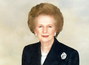 Former Prime Minister Margaret Thatcher © Wikipedia/Margaret Thatcher Foundation