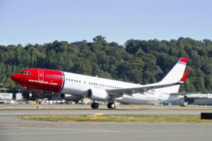 Norwegian Airlines © Creative Commons/Norwegian