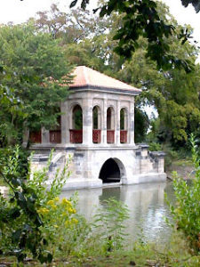 Birkenhead Park's boathouse