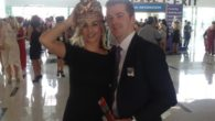 A Liverpool milliner took her talents to the richest horse race in the world in Dubai, catching the media's attention.