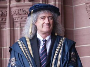 LJMU Chancellor Emeritus Brian May. Photo by Josh Parry