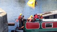 A police investigation is underway following the second sinking of one of the city's iconic Yellow Duckmarine amphibious vehicles.