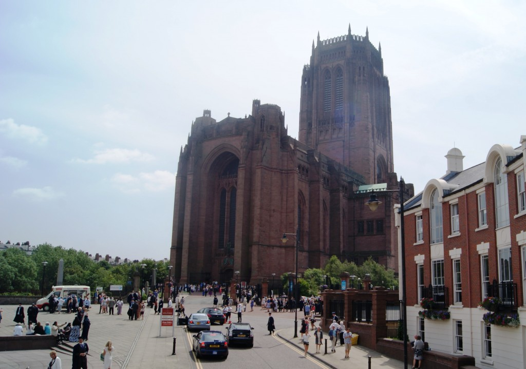 Graduation day at Liverpool's Anglican Cathedral