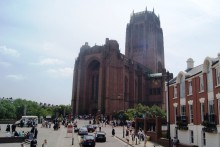 Repair work has started at Liverpool's Anglican Cathedral after receiving £115,000 funding.