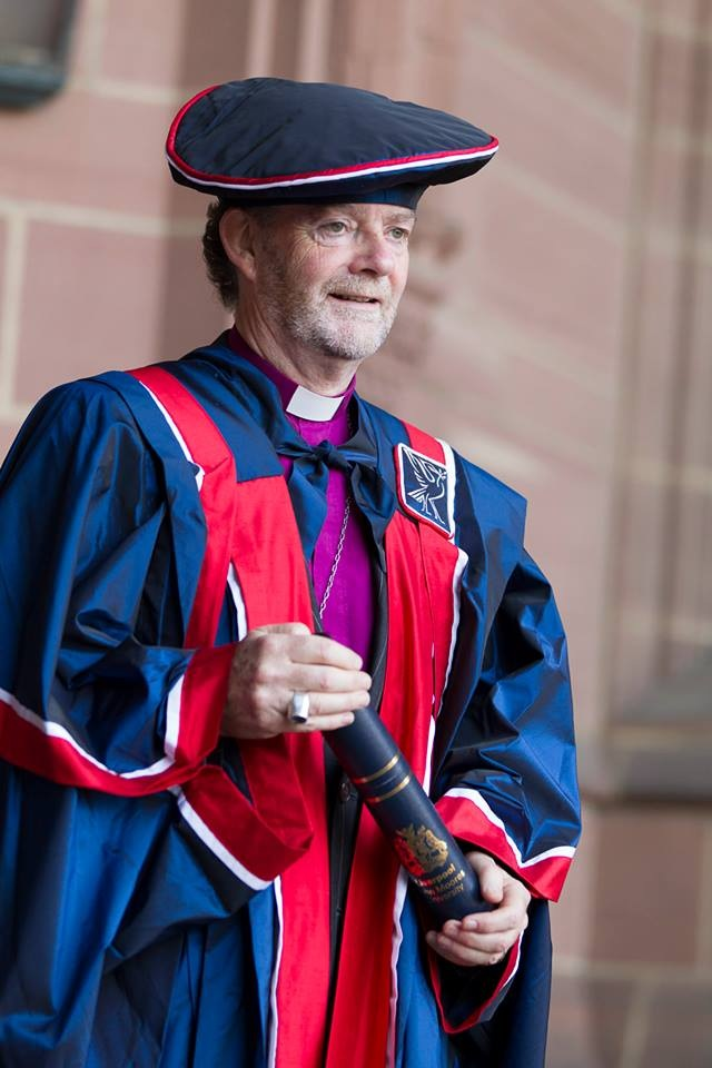 The Bishop of Liverpool, Right Reverend James Jones. Pic © LJMU