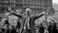 Liverpool Football Club pay tribute to one of their most famous managers to mark Bill Shankly's 100th birthday.