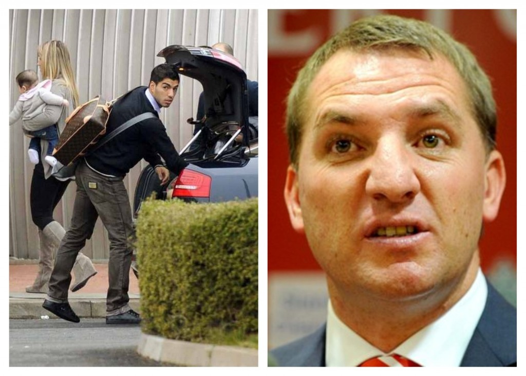 Luis Suarez wants to leave; Brendan Rodgers insists he won't be sold © Trinity Mirror