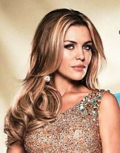 Abbey Clancy © BBC Strictly Come Dancing