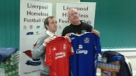 Liverpool Homeless Football Club has received recycled clothes seized by the city's Trading Standards officers.