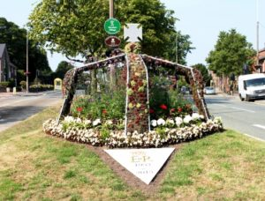 Woolton's crown display commemorating 60 years since the Coronation.