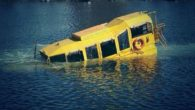 An official report looking into the cause of the sinking of a Yellow Duckmarine has revealed a problem with the foam used for buoyancy.