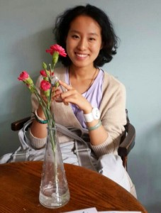 Qiqi Pan is studying for an international news journalism MA