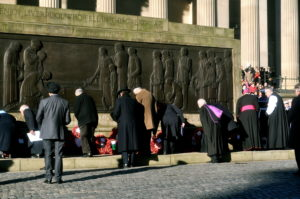 Liverpool's Centopath on Remembrance Day Pic: Laura Ryder
