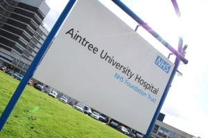 Aintree University Hospital recieved a £130,000 laboratory ©AintreeHospital/Twitter