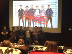 McBusted at the press conference release © Twitter @celebritain