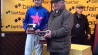 Cue Card produced a dazzling performance to see off all of his rivals in a star-studded Betfair Chase at Haydock Park.